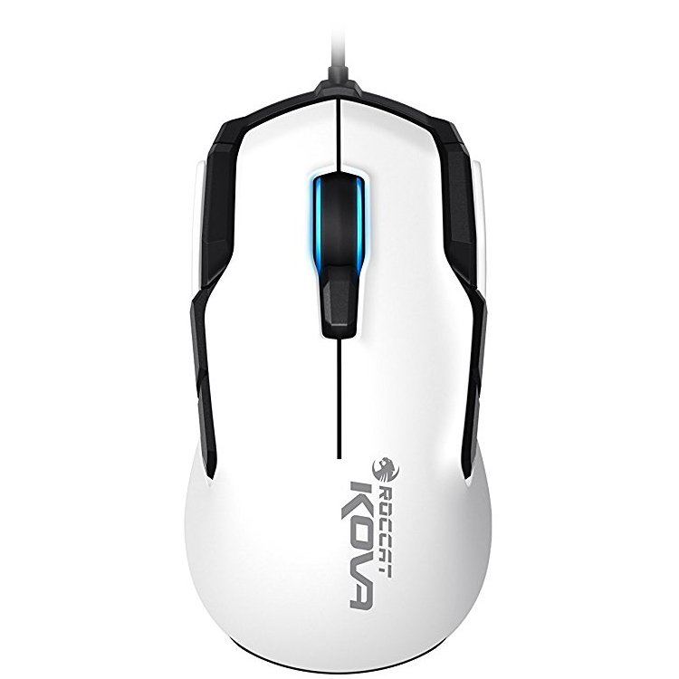 ROCCAT Kova-Pure Performance Gaming Mouse,white,Pro-Optic Se