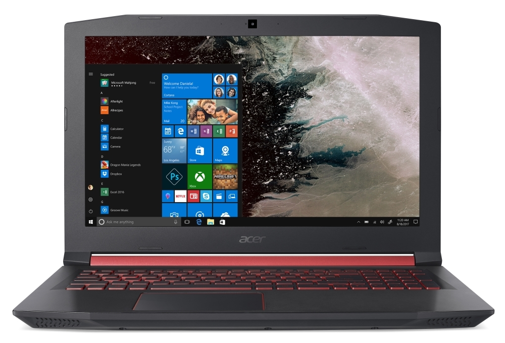 Acer Aspire Nitro 5, AN515-52-76W8, Intel Core i7-8750H (up