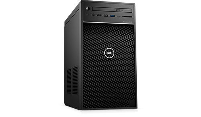 Dell Precision 3630 Tower, Intel Core i7-8700, (3.2GHz, 6 Co