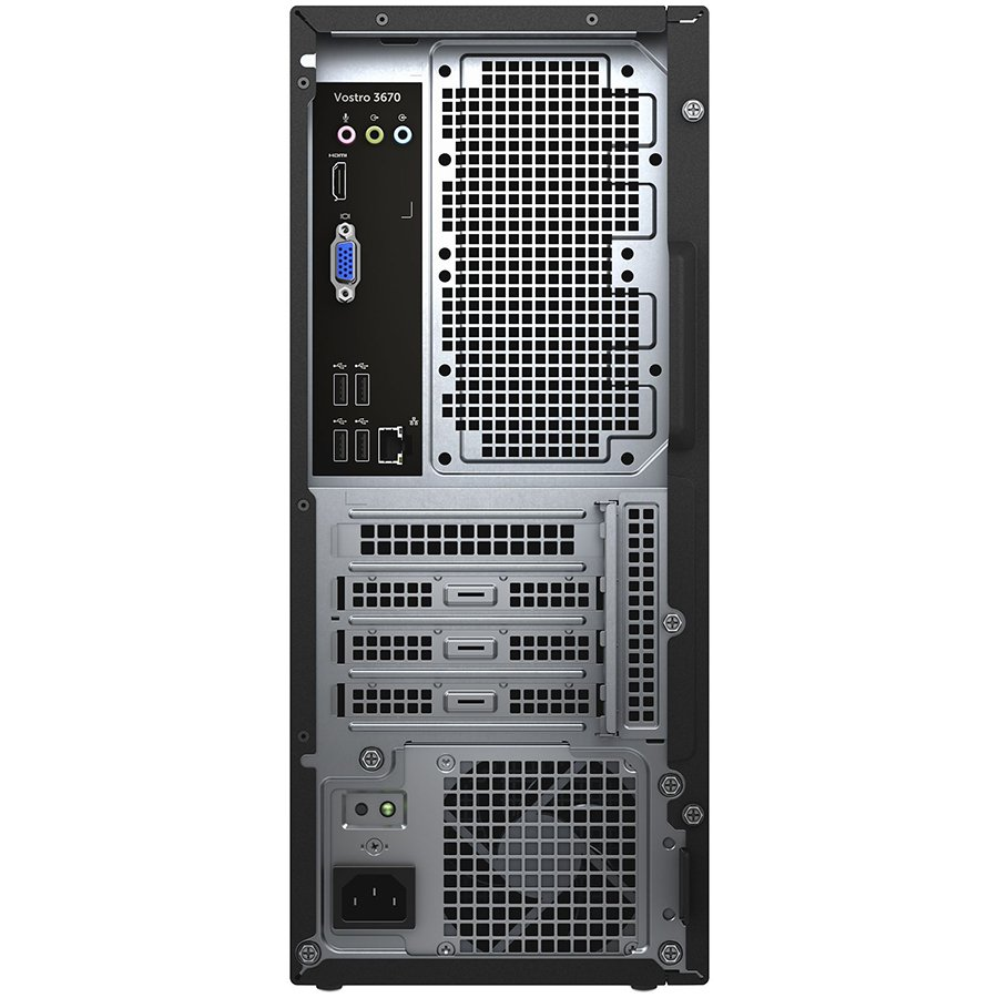 Dell Vostro Desktop 3670, Core i3-8100 (6MB , up to 3.6 GHz)