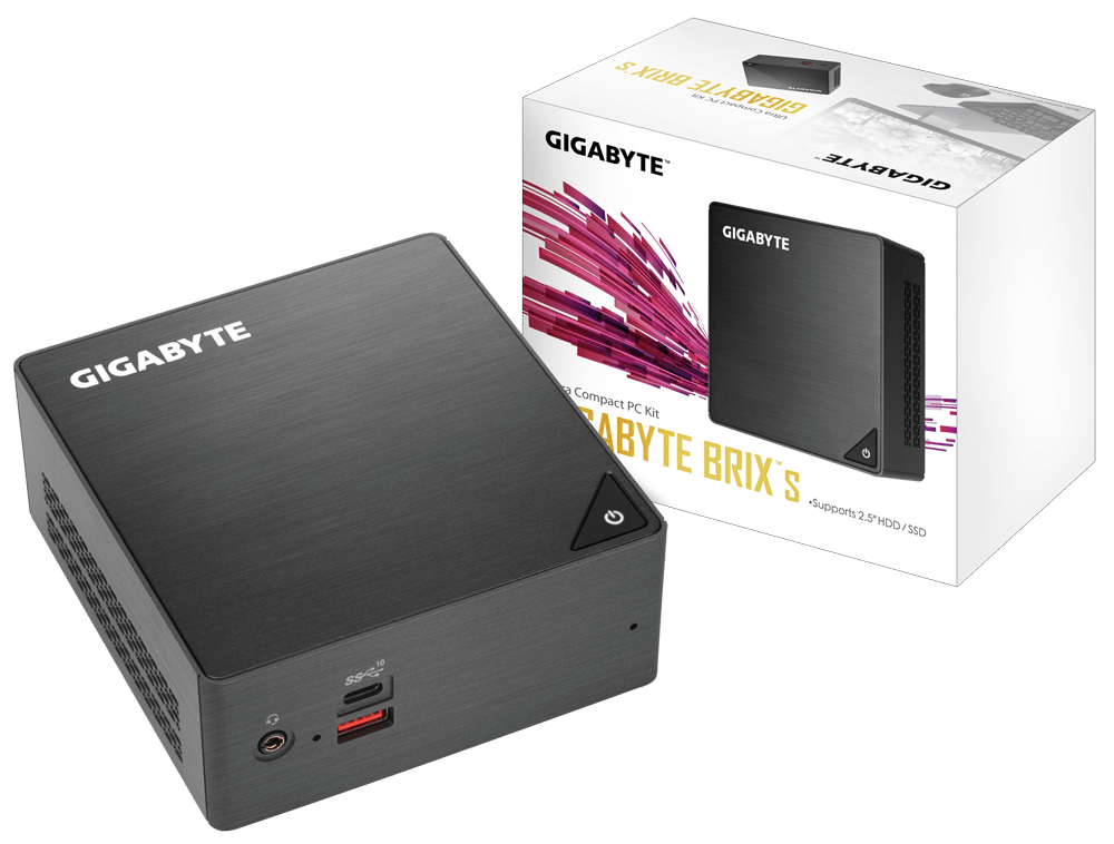 Desktop PC Gigabyte  Brix BRi7H-8550, CPU  Intel® Core™ i7-8
