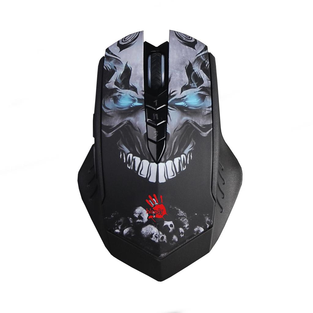 Gaming Mouse Bloody, R80, Optical, Wireless, USB