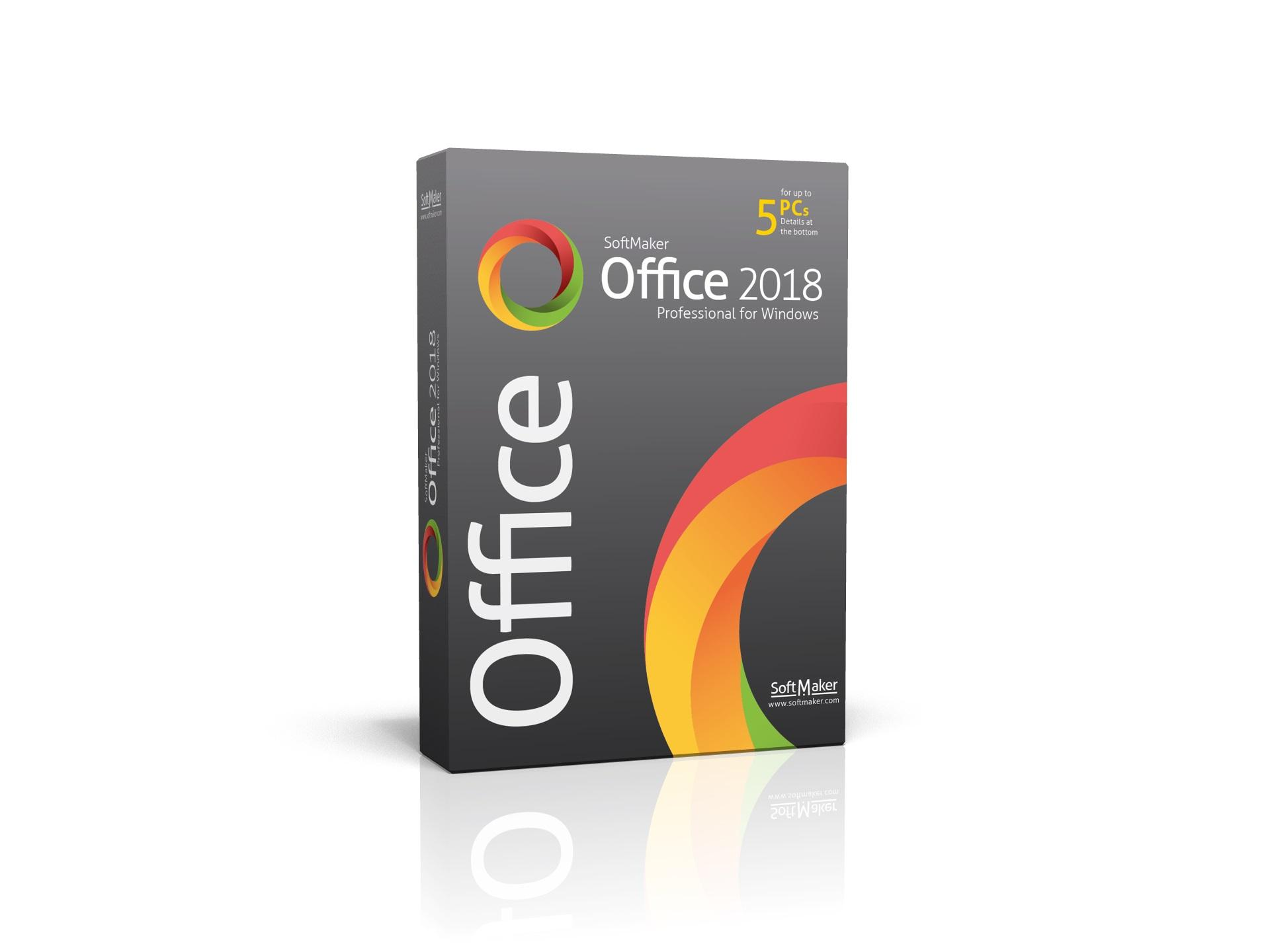 SoftMaker Office Proffesional  2018 for Windows